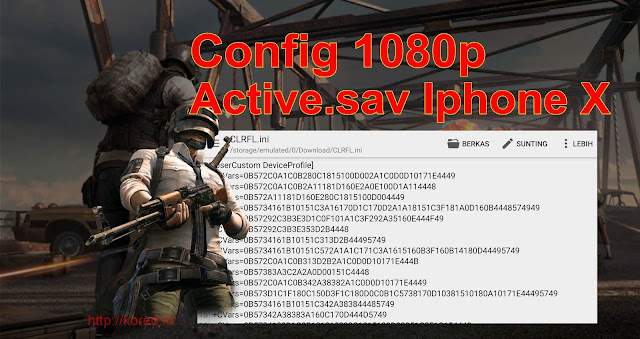 Download Config 1080p Terbaru dan Active.sav Iphone X