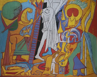 Распятие Пикассо 1930