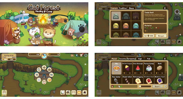 riview game cat forest dua