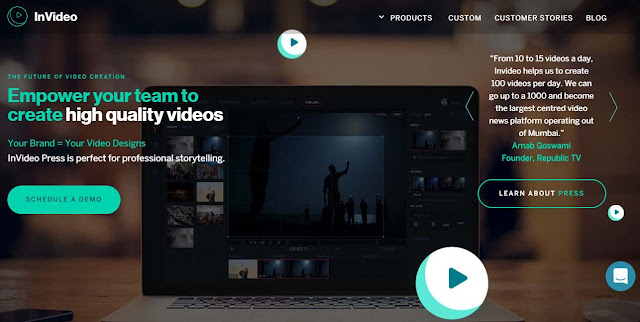 invideo video production