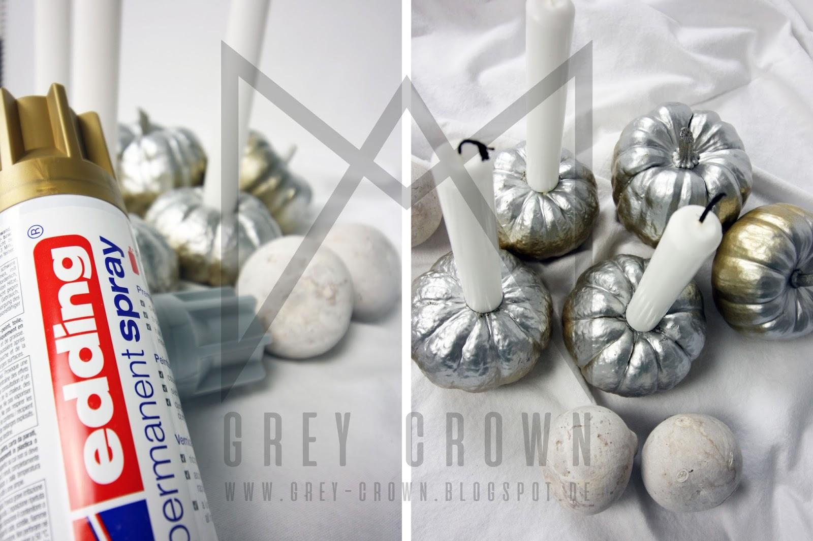 grey crown: hello pumpkin + give away von edding