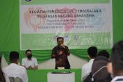 56 Mahasiswa Magang BLCC Dilepas Walikota Bitung