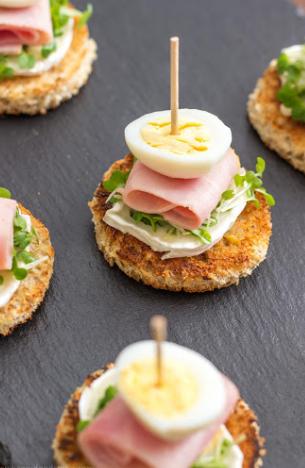Quail Egg Bites
