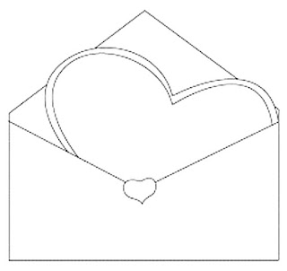 דפי צביעה מכתבי אהבה