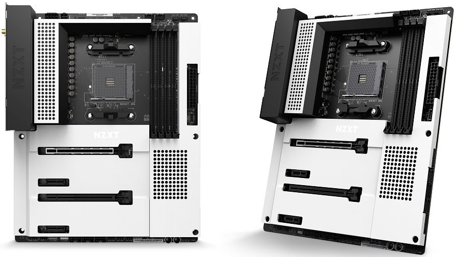 NZXT N7 B550 Siyah ve Beyaz Anakart