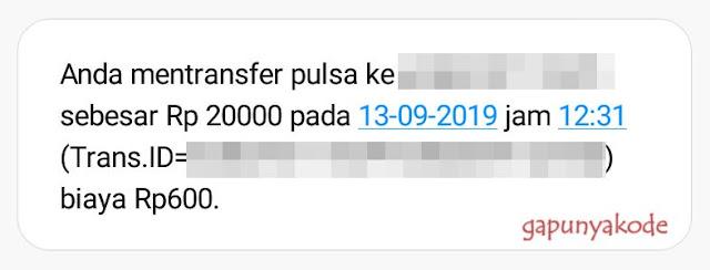 Format SMS Transfer Pulsa Indosat Ooredoo Terbaru