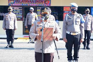 Polres Wajo Melaksanakan Apel Deklarasi Internal Menuju WBK