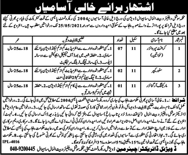 Latest Jobs in Social Welfare And Bait Ul Mal Department Punjab  2021