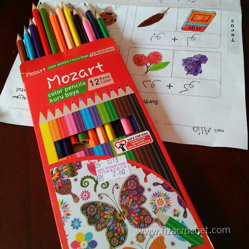 Warna Pensil Murah, Mana Nak Beli?