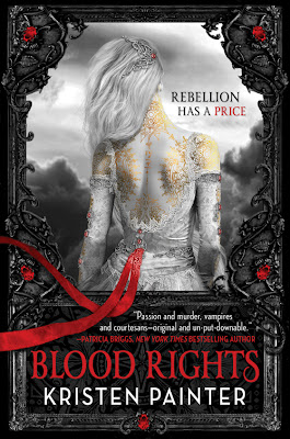 Release Day Review - Blood Rights by Kristen Painter - 5 Qwills