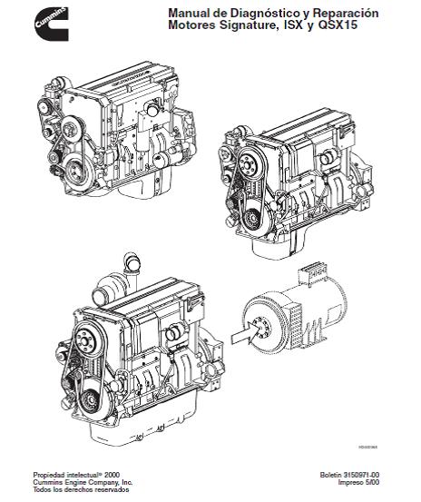 Datos Tecnicos Diesel: Manuales y Datos Cummins