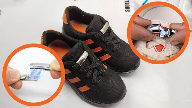 رباط الحذاء المغناطيسي يغنيك عن العقد - Fashion Magnetic Shoelaces Elastic No Tie Shoe Laces