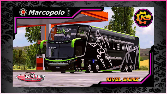Kivel Skinz, Skins World Bus Driving simulator