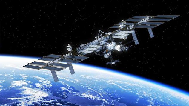 Ilustrasi stasiun luar angkasa. [Shutterstock]