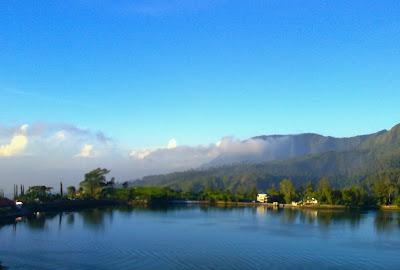 Telaga Sarangan In Love: I'm Only At Jawa Timur, Never Move to Jawa Tengah!