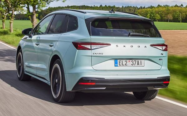 Skoda Enyaq supera modelos da VW no principal mercado de elétricos