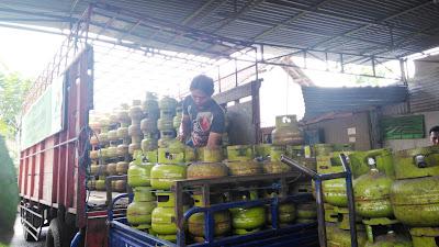 Elpiji Ukuran 3 Kilogram Langka di Jombang