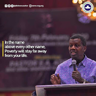 E.A Adeboye Daily Declarations February 21, 2020