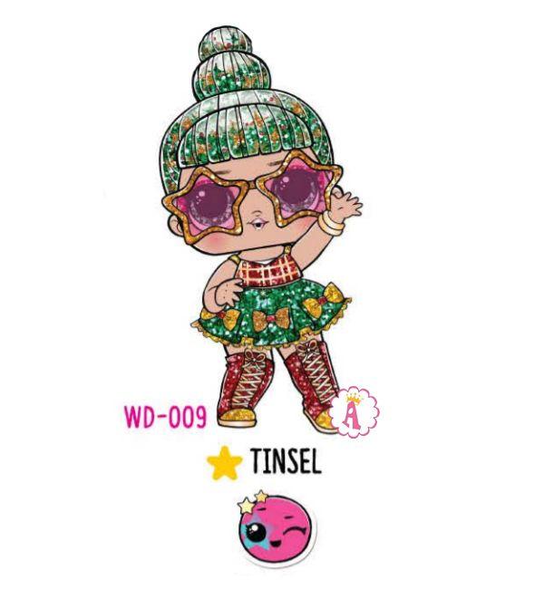 Tinsel WD-009 новогодняя коллекция Лол Сюрприз 2020