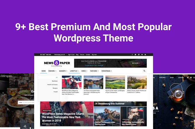9 Best Premium And Most Popular Wordpress Theme