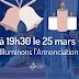 Le 25 mars, allumons nos fenêtres de bougies