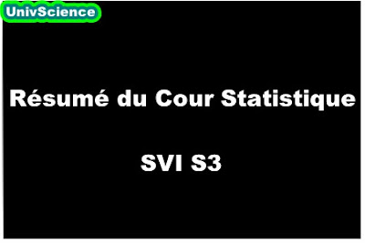 Résumé du Cour Statistique SVI S3.