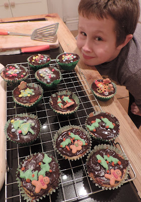 cupcakes baked by children