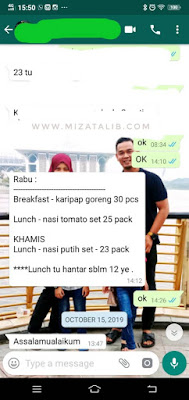 Selesai Tugas Runner Lunch Box lunch box, food panda grab food lunch time penghantaran makanan lunch box alam megah lunch box shah alam nasi tomato nasi putih berlauk partime runner