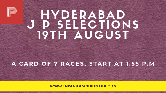 Hyderabad Jackpot Selections 19 August