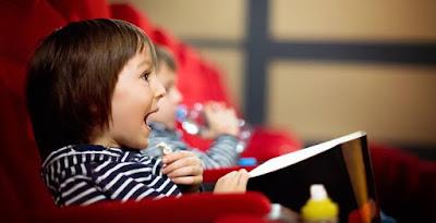 Cinema de graça para a criançada