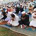 अलीगंज : कोरोना गाइडलाइन का पालन करते हुए हर्षोल्लास के साथ मनाया गया ईद का त्योहार