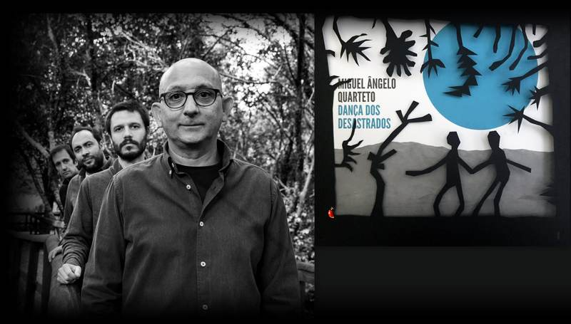 """""""Dança dos Desastrados"""" é o novo álbum de Miguel Ângelo Quarteto. Depois de ter lançado em 2013 - """"Branco"""" - o álbum de estreia do grupo, e o disco """"A Vida de X"""", em 2016, o Quarteto, liderado pelo contrabaixista e compositor Miguel Ângelo, apresenta agora, o terceiro trabalho: """"Dança dos Desastrados""""."""