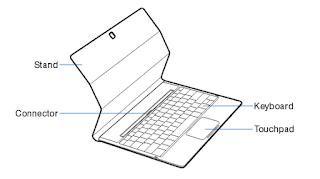 "Samsung Galaxy TabPro S 12"" 128GB (SM-W700NZKAXAR) user guide manual PDF (English)"