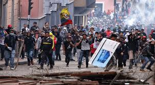Mueren siete personas durante protestas en Quito, Ecuador