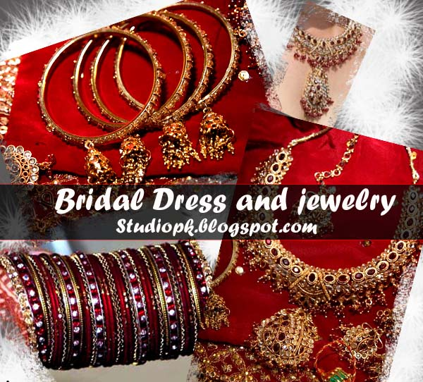 Bridal Dress and jewelry Psd