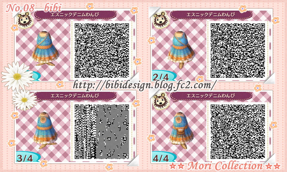 QR CodesQr Codes Animal Crossing New Leaf Dresses