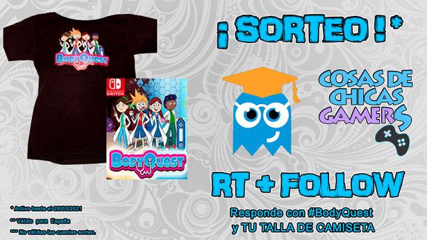 Sorteo BodyQuest + Camiseta