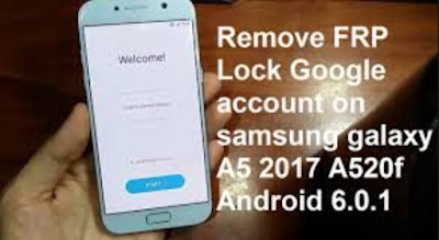 Remove FRP Samsung Galaxy A520F dengan File PIT