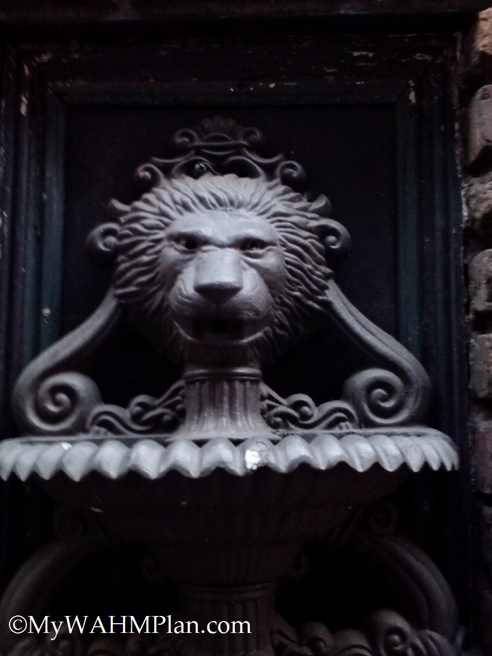 Lion Fountain #PrintersAlley #Nashville