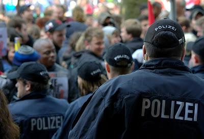デモ、ドイツ