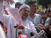 Habib Rizieq tak Hadiri Pemanggilan Pertama Polda Jabar karena Sakit