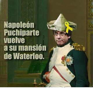 Quédate con quien entienda tu locura, Puigdemont