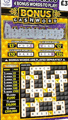 National Lottery Scratchcard