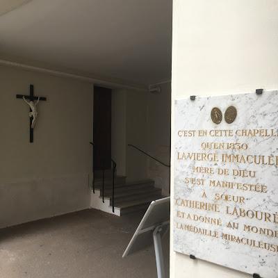 Targa Apparizione Santa Caterina Labouré