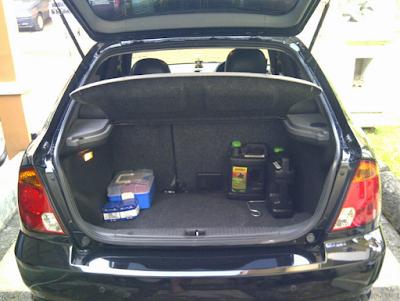 Bagasi Hyundai Avega