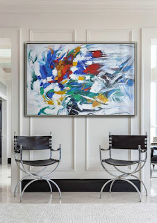 Abstract Oil Painting, Modern Wall Art