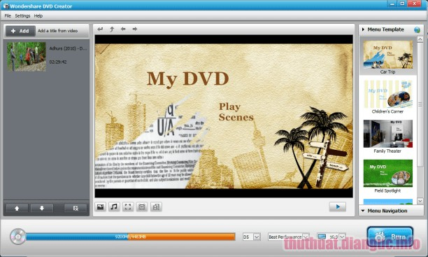 Download Wondershare DVD Creator 6.2.4.109 Full Crack