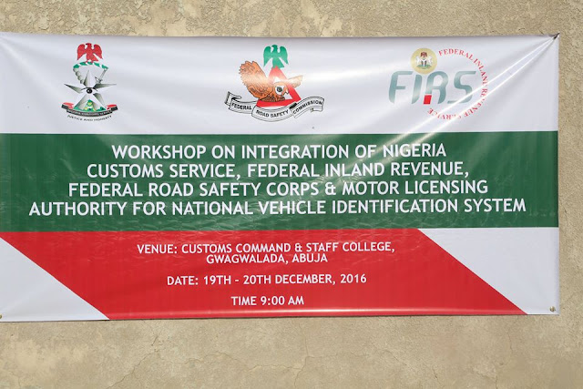 Customs, FIRS, Road Safety and Motor Licensing Authority collaborates on Vehicle Identification Number Scheme