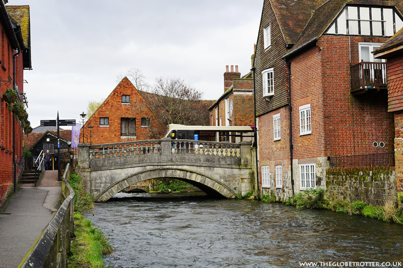 The City Bridge in Winchester