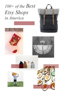 100 of the best American Etsy Shops